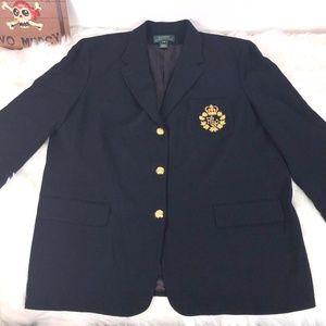 Lauren Ralph Lauren VINTAGE Blazer Navy Size 22W